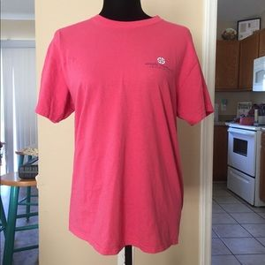 Coral simply southern tee